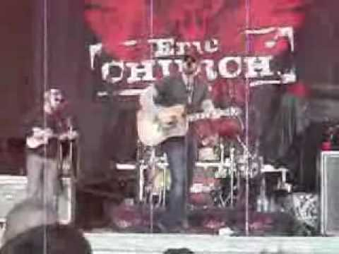 Eric Church - Before She Does @ Country Throwdown June 12 2010 USANA Salt Lake City Utah