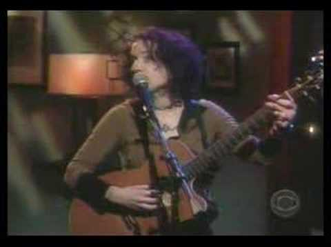 Andrew Bird performing with Ani DiFranco on Craig Ferguson