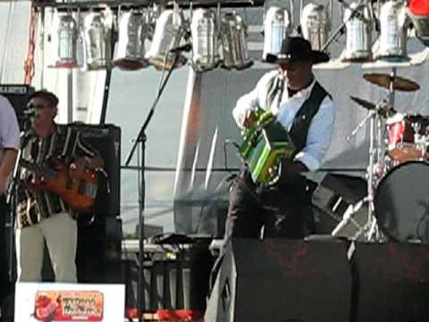 Leroy Thomas & The Zydeco Road Runners LIVE - 2009 Creole Heritage Zydeco & Crawfish Festival