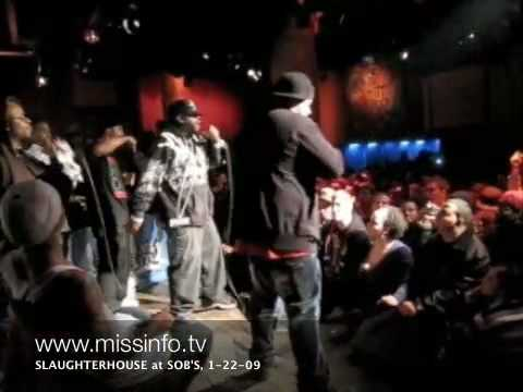 "First Live Slaughterhouse (Joe Budden, Joell Ortiz, Royce 5`9"" and Crooked I) show at SOBs"