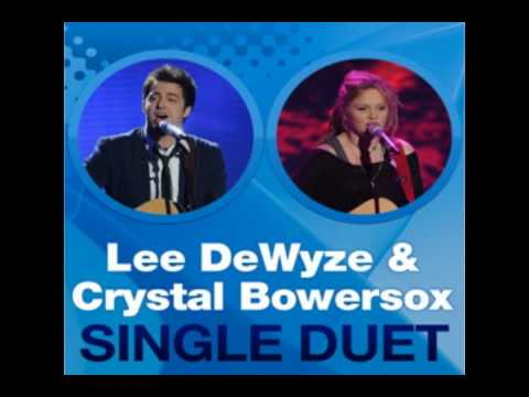 "Lee Dewyze and Crystal Bowersox - ""Falling slowly"" (Studio Version)"