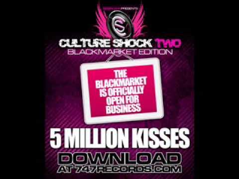 LOMATICC - 5 MiLLiON KiSSES Culture Shock 2 Black Market !!!BRAND NEW SINGLE!!!!