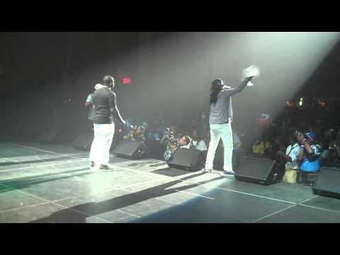 Ricky Blaze brings out Machel Montano @ On Da Reggae Tip