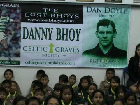 Danny Bhoy, by The Good Child Foundation.