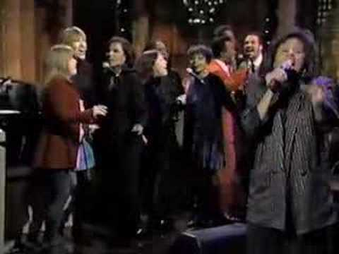 Darlene Love on Letterman (1995)