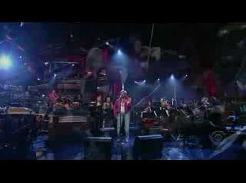 Darlene Love on Letterman May 2007 River Deep Mountain High