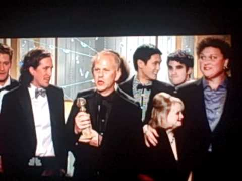 Glee wins Golden Globe 2011