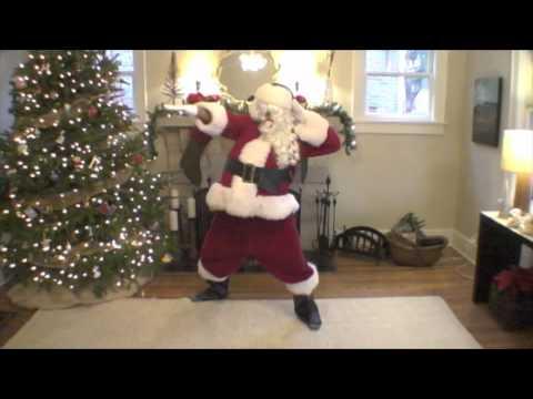 "Santa Dances to Breakbot - ""Baby I`m Yours"""