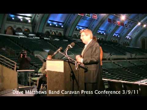 Dave Matthews Band Caravan Press Conference Atlantic City NJ