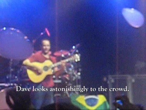 Tribute to Leroi Moore - Dave Matthews Band Concert in Rio on 9/30/2008