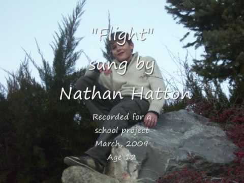 "Nathan Marc Hatton singing ""Flight"""
