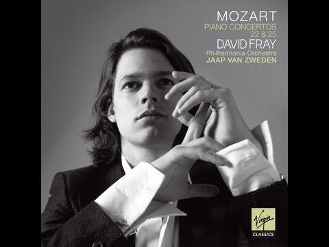 David Fray: Mozart, Concertos n�22 & 25