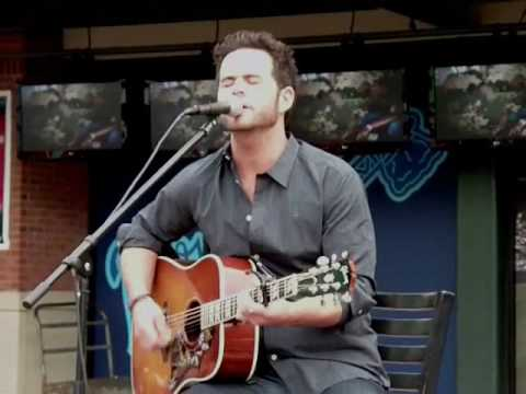 "David Nail singing the hit song ""Clouds"""
