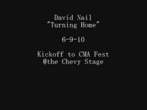 "David Nail- ""Turning Home"""