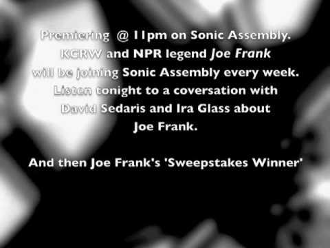 sonic assembly-joe frank premiere