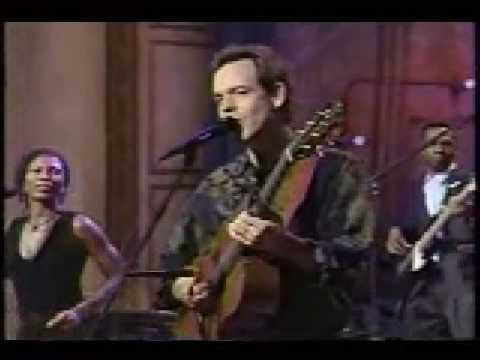 David Wilcox on The Late Show with Conan O`Brien