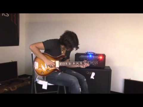 Davy Knowles, the new PRS McCarty 58 and the new 2 Channel amp