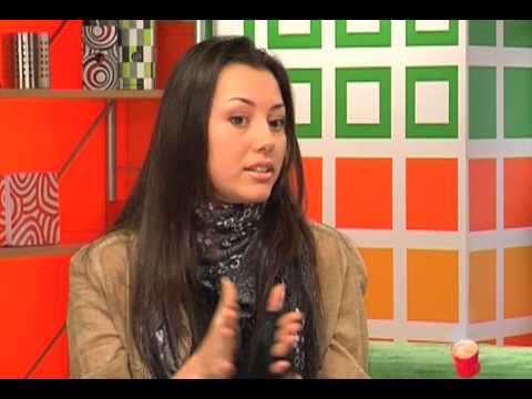 Safura - Eurovision 2010, Azerbaijan - Safura at Day Show, MTV Ukraine