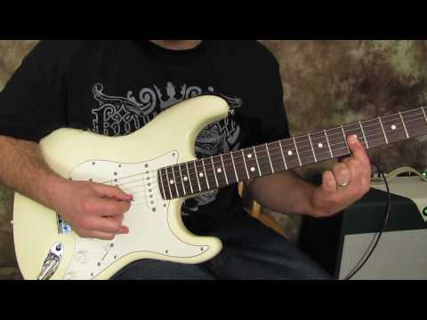 Bon Jovi - Wanted Dead or Alive - How to play the intro on guitar