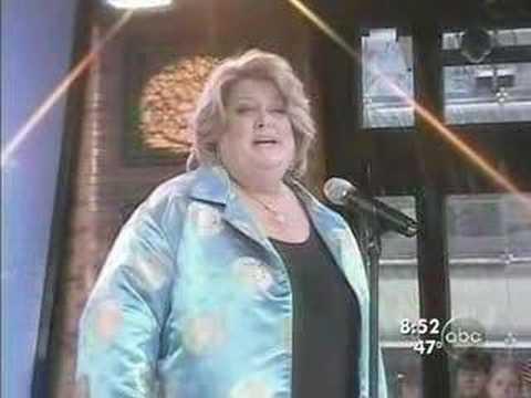 Deborah Voigt performing on Good Morning America
