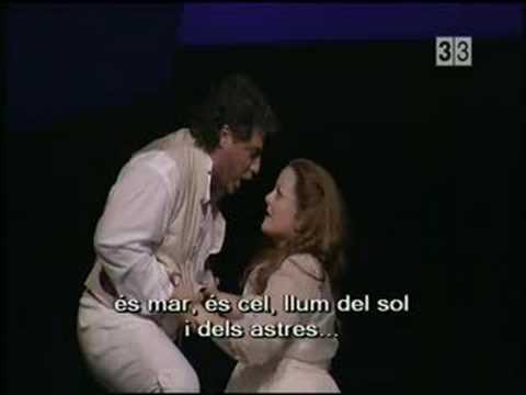 """Cura/Voigt - """"Vicino a te"""" - Andrea Chénier Liceu 2007"""