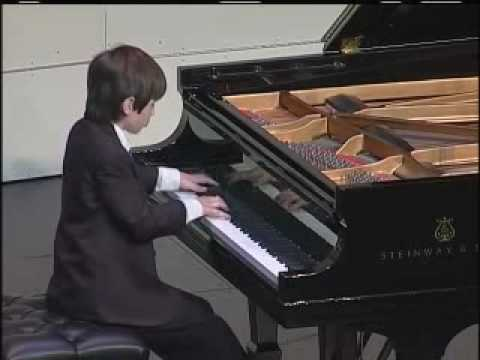 Young Pianist Competes in International Piano Competition