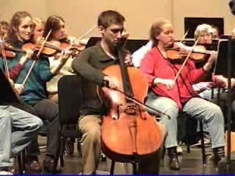 Tchaikovsky Rococo Variations - Alexander VanDorpe, Cello - Des Moines Symphony, 2006 Part 1.wmv
