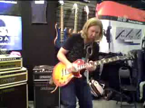 Devon Allman Introduces his Signature Fuchs ODS @ NAMM 2010