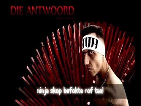 Die Antwoord - Enter The Ninja (Clean) + lyrics