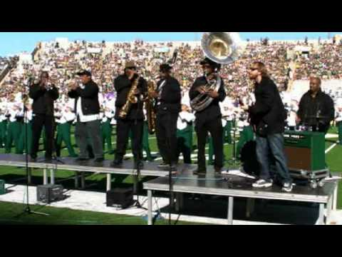 CSU Marching Band with the Dirty Dozen Brass Band