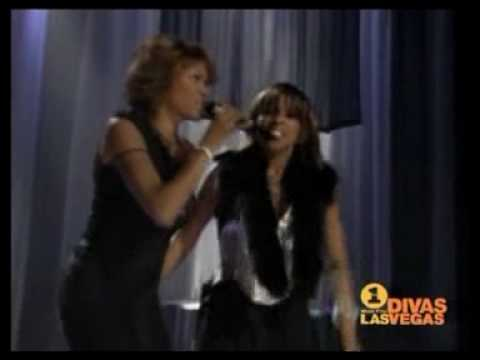 Whitney Houston & Mary J. Blige - Divas Live - Rainy Days.