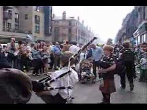 West End Festival - Bagpipes - Last of the Mohicans