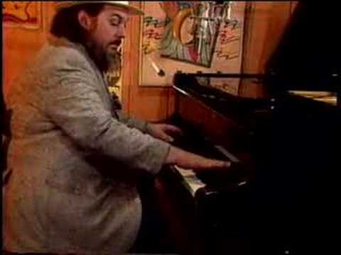Dr. John plays `Pine top boogie`