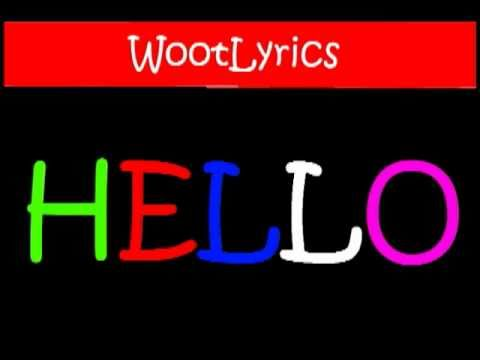(Lyrics on screen) Martin Solveig Ft. Dragonette - Hello