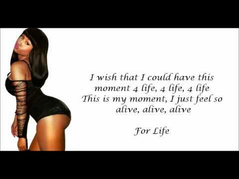 Nicki Minaj - Moment 4 Life (feat. Drake) Lyrics Video HD