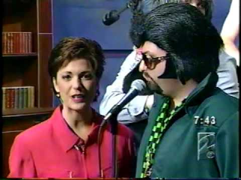 Dread Zeppelin Kyra Phillips Black Dog TV Appearance