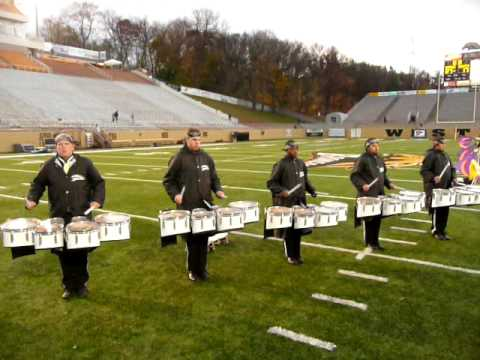 "WMU BMB Drumline ""Live and Let Die"""