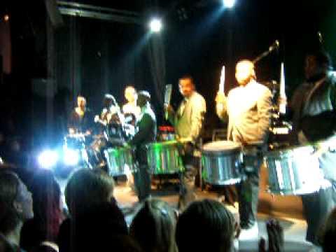 Peter Fox und die Cold Steel Drumline (Teil2) 28.11.08 Osnabr�ck Live