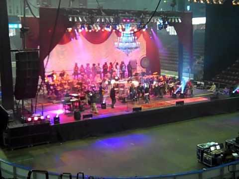World Rock Symphony Orchestra Sound Check - General Motors Centre - Sept 25