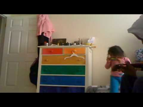 Ukulele and Harmonica Jam - 4 year old harmonica master with novice dad.
