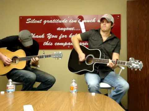 "Easton Corbin sings ""I can`t Love you Back"" live at KKNG Radio Oklahoma City"