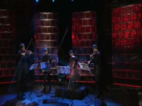 Apollon Musagete Quartett plays Krzysztof Penderecki