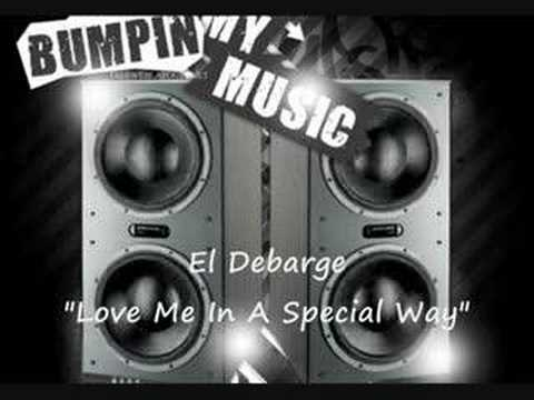 "El Debarge ""Love Me In A Special Way"""