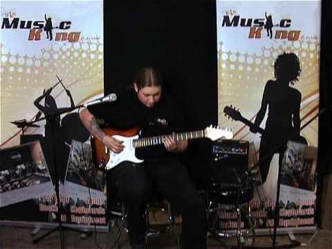 Fender Squier Electric Guitar Package Video Demo From `The Music King`