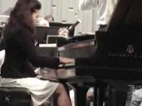 Elena Baksht - Gershwin Piano Concerto in F Major - Excerpts1st Mvt.
