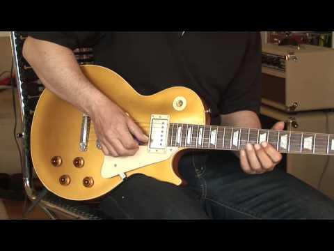 Gibson Les Paul Murphy Aged Goldtop plus Elmwood Modena Amp Part 1