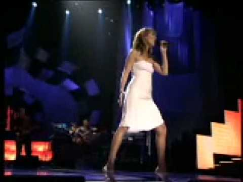 Celine dion - Tribute to Elvis Presley (live)