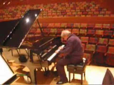 Emanuel Ax chooses a piano -- 1