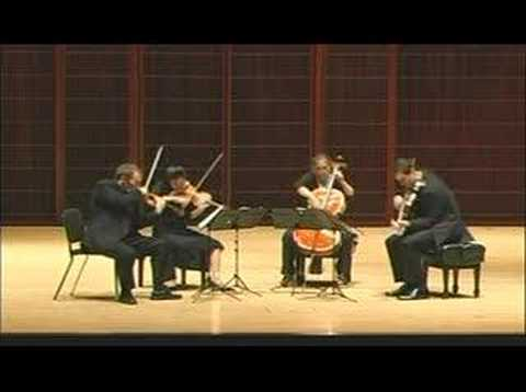 Jasper String Quartet Plays Bartok