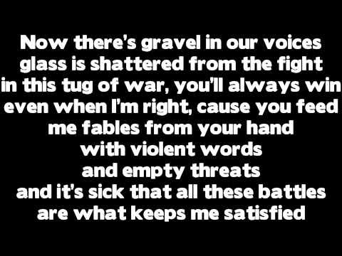 Rihanna - Love The Way You Lie (Part 2) ft. Eminem LYRICS